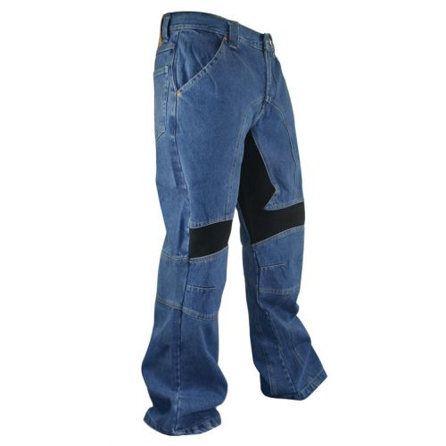 Мотоджинсы Men's Classic Fit Denim Motorcycle Racing Pants